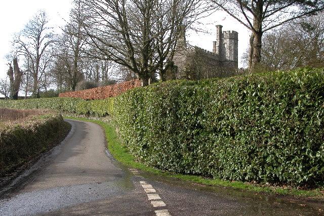 Affeton Castle, Affeton Barton
