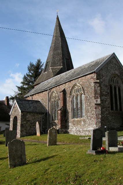 West Worlington church