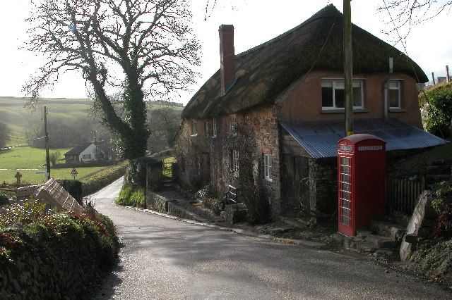 Cottage and phone box