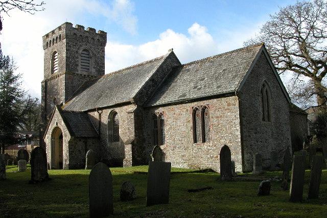 East Worlington church