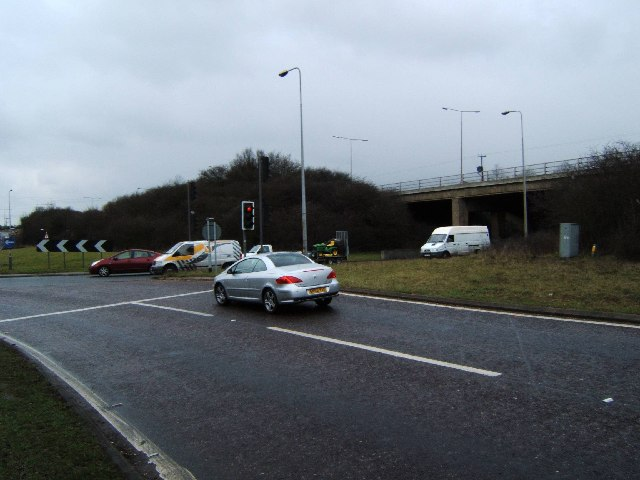 A1245 - A127 Junction