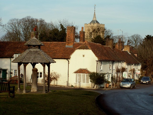Village of Westmill, Herts.