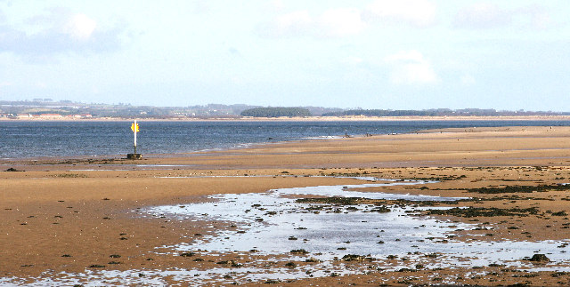 Tay Estuary from Tentsmuir