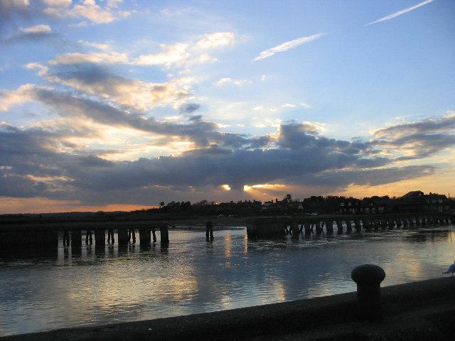 Sunset over Walberswick