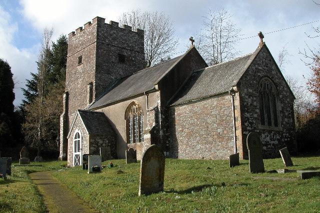 Cheldon church