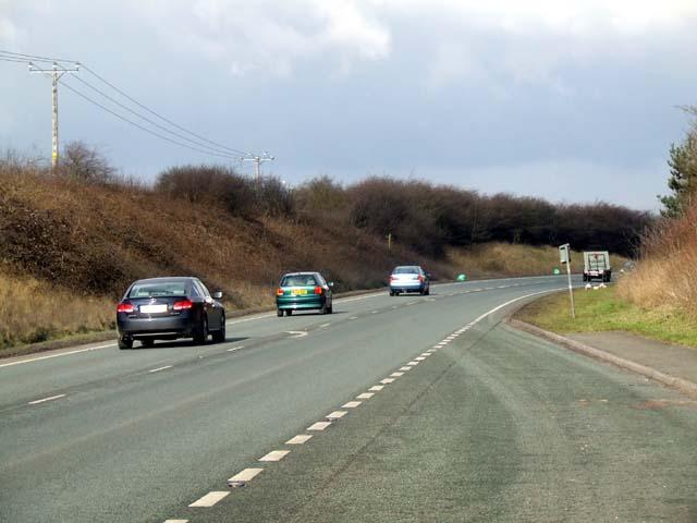 A49 at Tarporley