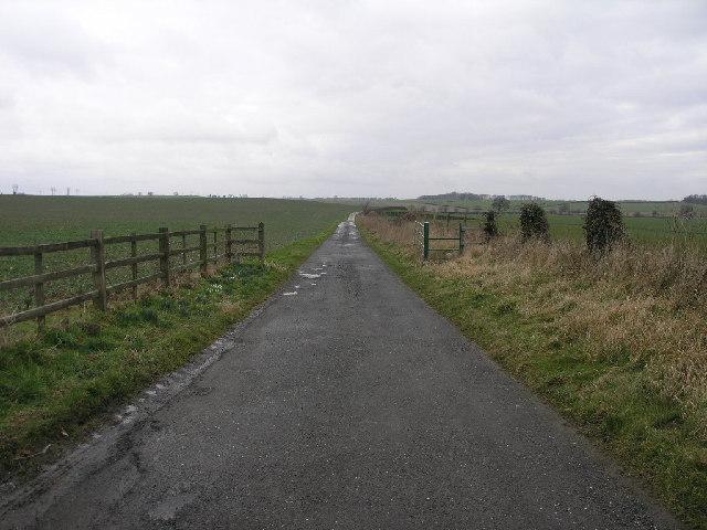 Farm Track Scarcliffe