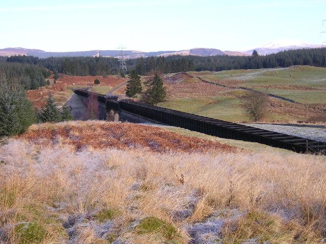 Aqueduct Across Corrie Burn