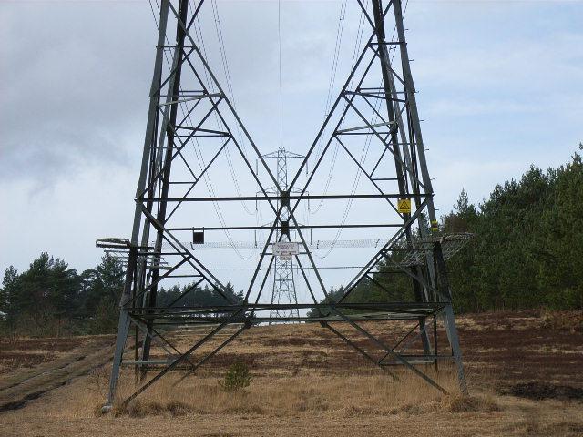 Pylons, Wishmoor Bottom