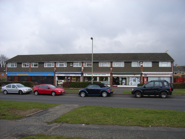 The shops, Aylesham Way, Yateley