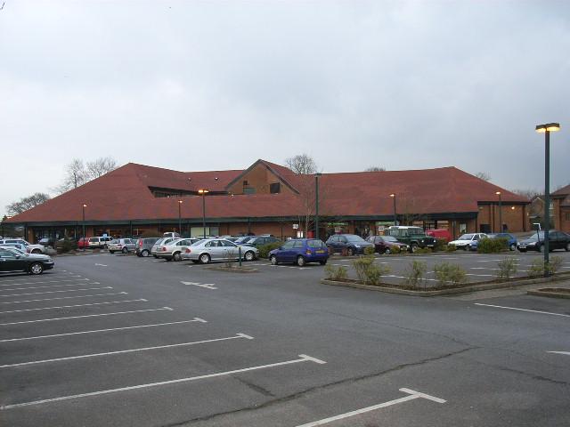 Waitrose supermarket, Yateley