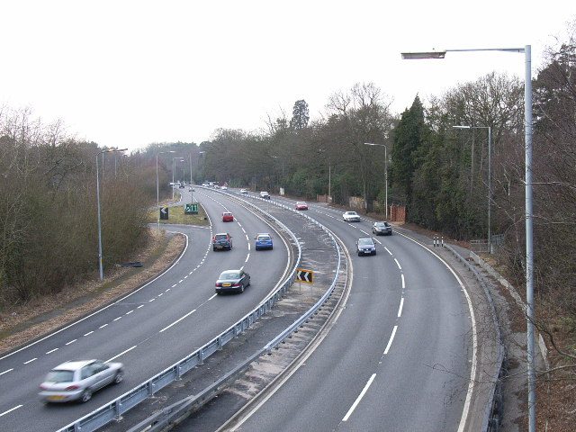 The A322, Bagshot