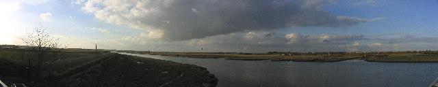 River Blyth Panorama