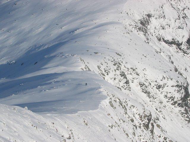 Northeast ridge, Beinn Eunaich.