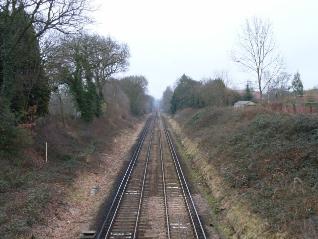 The railway, Bracknell