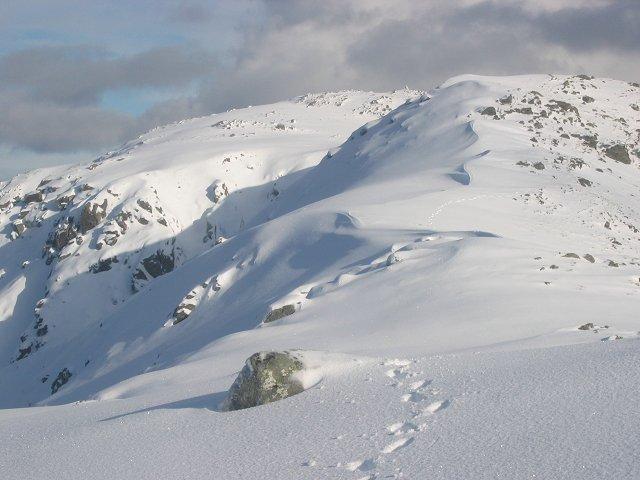 East top of Beinn Eunaich