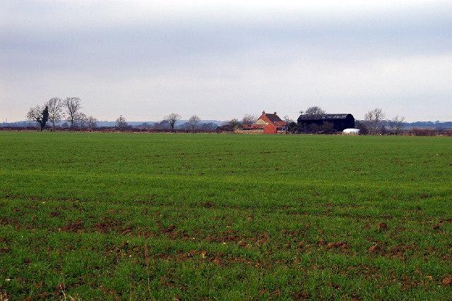 Looking towards Eastfields Farm