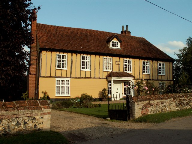 Old House at Belchamp Walter, Essex