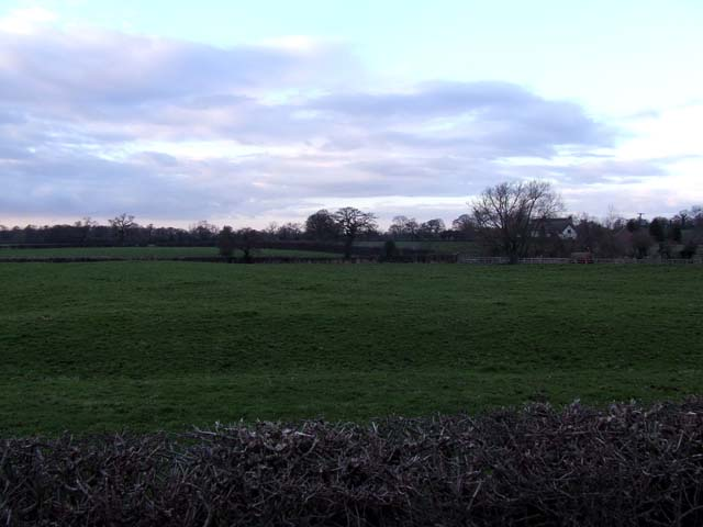 Fields near Crabmill farm