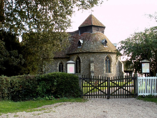 St.John the Baptist church, Little Maplestead, Essex