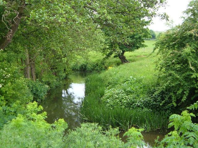 River Chew below Publow