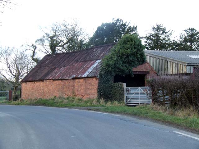 Roadside Farm Building at Fulhurst Hall