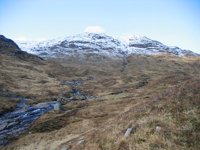 Meall Copagach and Coire Raineach