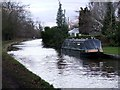 SJ6152 : Narrowboat on the canal by Nigel Williams