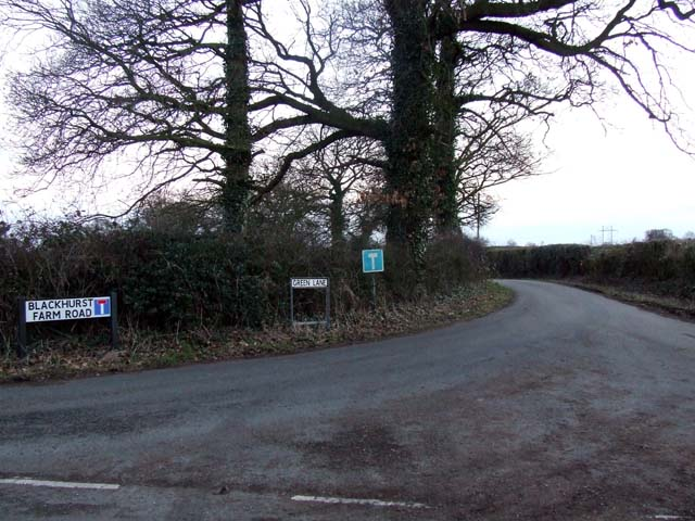 Blackhurst Farm road
