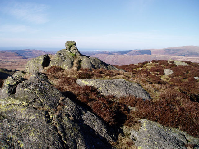 Summit of Dow Crag