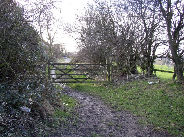Gate on Toothill Lane South, Rastrick, Yorkshire