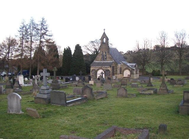 Rastrick Cemetery,Carr Green Lane, Rastrick, Yorkshire