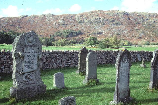 Eskdale churchyard