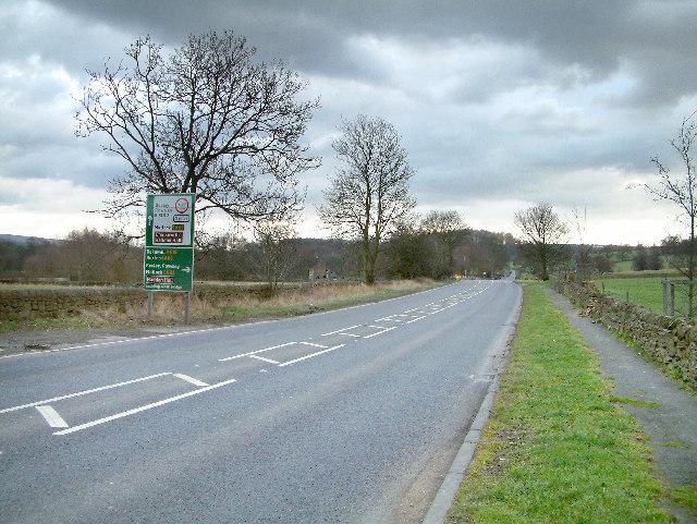 Near Baslow.