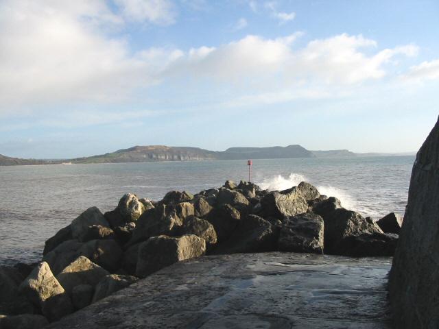 Tip of The Cobb, Lyme Regis