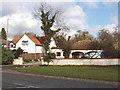 SU9982 : Houses in Church Lane, Stoke Green by David Hawgood