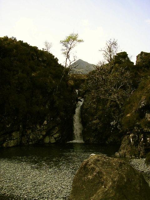 Waterfall on Allt Dearg Beag