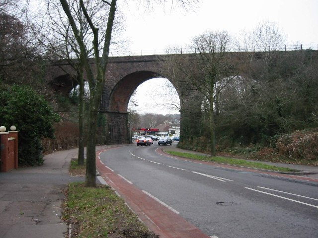 Three Arches Railway Bridge, Heath