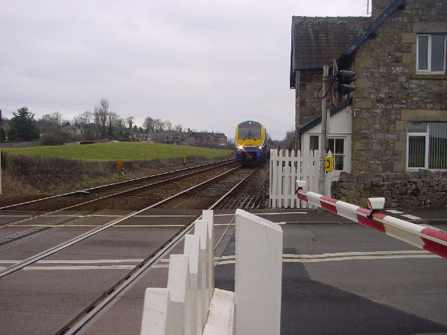 Level Crossing at Arnside