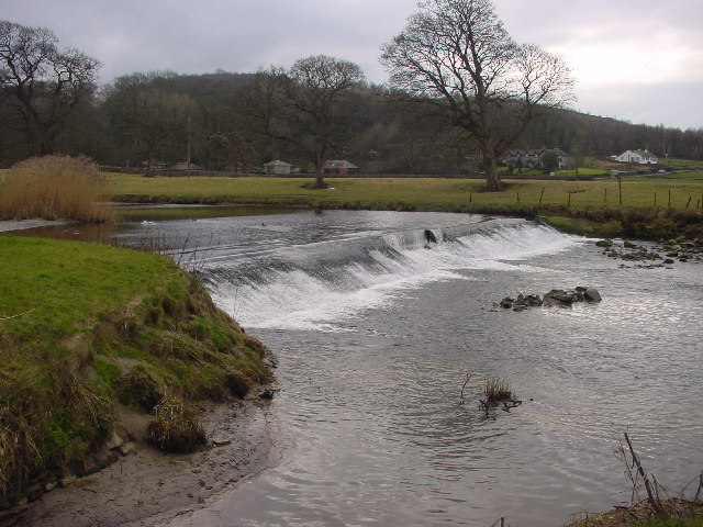 Weir on River Bela