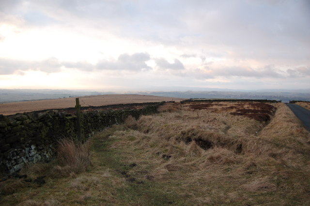 The Pennine Way at Elslack Moor