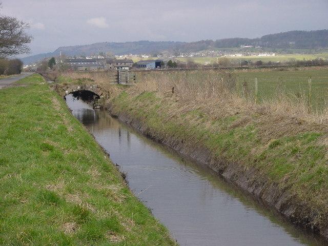 Drainage Dyke on Milnthorpe Marsh