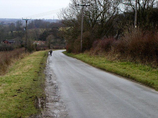The Welton to Elloughton Dale road