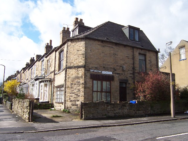 Junction of School Road and Clementson Road, Crookes