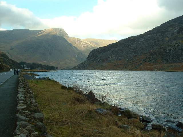 Llyn Ogwen and the A5