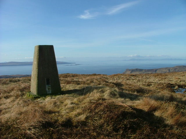 Ben Brogaskil Trig Point