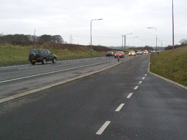 The A164 Willerby to Beverley Road