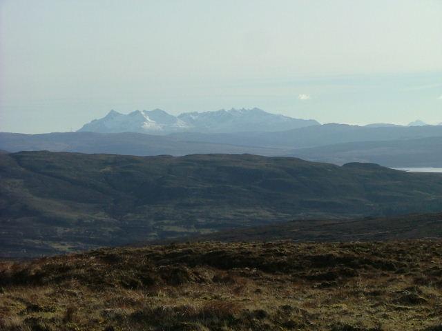 Moorland east of Loch Beag