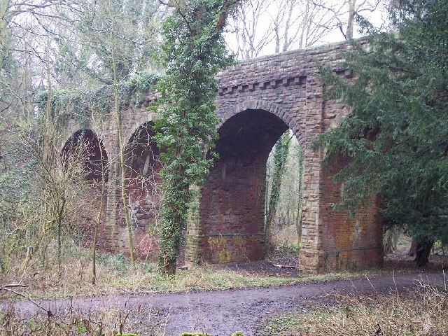 Grace Dieu Viaduct, Thringstone, Leicestershire