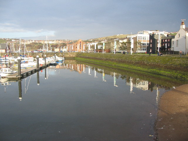 Whitehaven Marina reflections